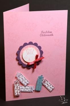 Geburtstagskarte für Mädchen