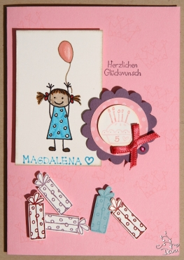 Mädchenkarte