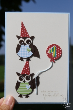 für Zwillinge zum 1. Geburtstag