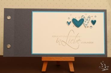 Hochzeitskarte Nr.2 mit Ösen