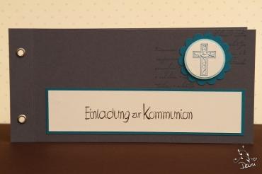 Einladungskarte Kommunion