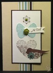 Workshop Karte Bird