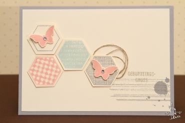 Geburtstagskarte mit Six-Sided Sampler