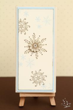 Kellnerblock Serene Snowflakes