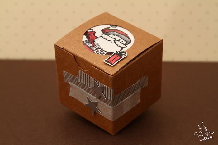 Mini Box Weihnachtsmann