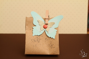 Schmetterlinge für die Gäste